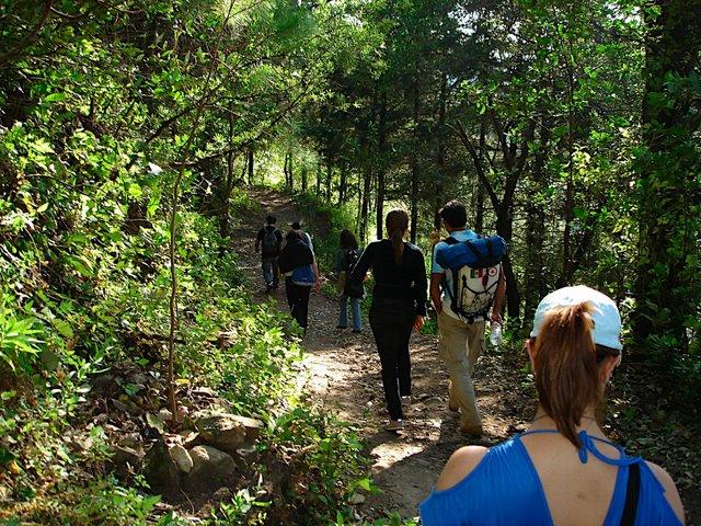 Hiking at Casa de la Vida, Tepoztlan, Mexico