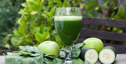 Green Juice at Casa de la Vida