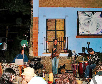 Live Music in Tepoztlan. Mexico