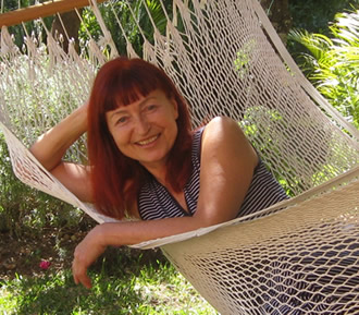 Anosha at Casa de la Vida, Tepoztlan, Mexico