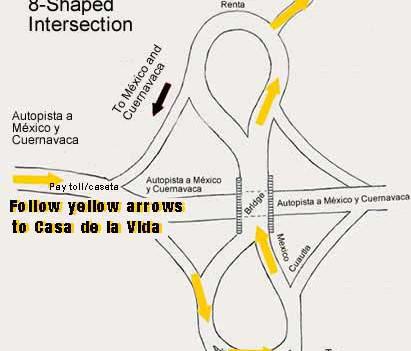 Map 5: Casa de la Vida in Tepoztlán, Mexico