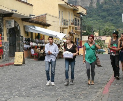 Walking In Tepoztlan, Mexico